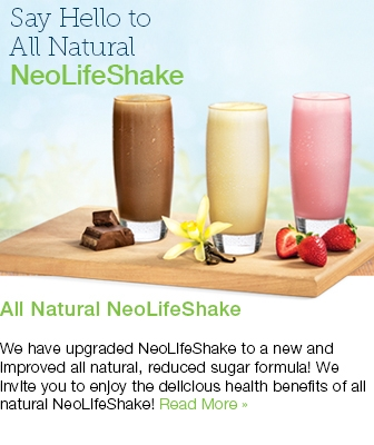 You Will Love All Natural NeoLifeShake!